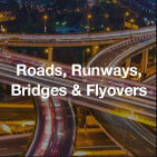 Roads,Runways, Bridges & Flyovers